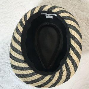 Volcom Accessories - Black and White Striped Volcom Fedora